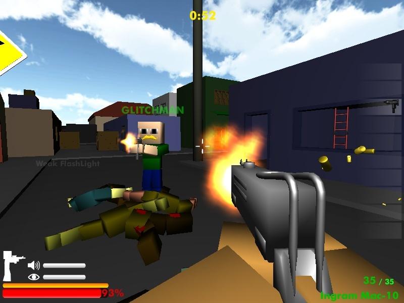 play free game minecraft zumbi blocks 3d